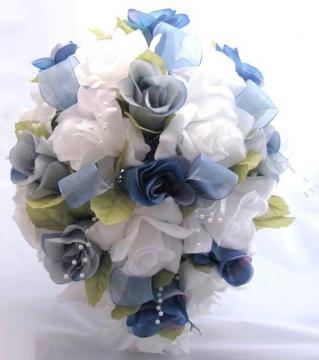 silk bridal bouquets at portfolio image