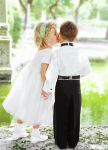 Bridal Shops & Tuxedo Rental in San Diego, CA: Baby Discovery Flower Girl Dresses and Boy Tuxedos