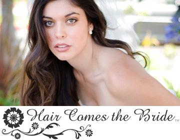 Portfolio image for Hair Comes the Bride
