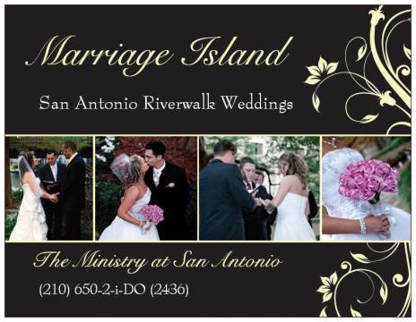 Marriage Island San Antonio, Riverwalk on OneWed
