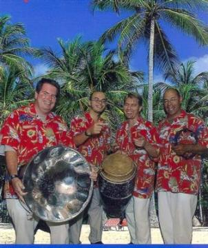 Portfolio image for The Bamboo Boat Steel Drum Band