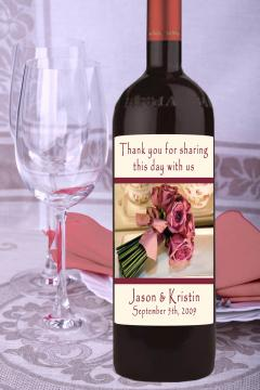 Portfolio image for Personalized Wine Labels Etc.