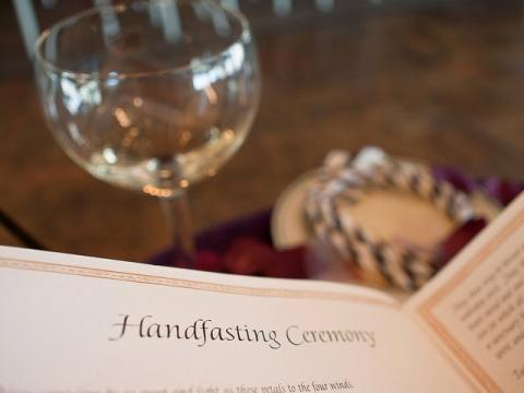 Portfolio image for A Celtic Handfasting & Wedding Officiant
