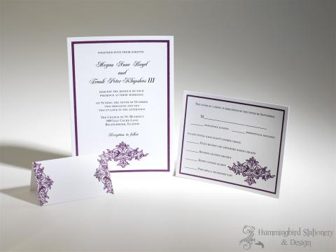 Portfolio image for Hummingbird Stationery & Design