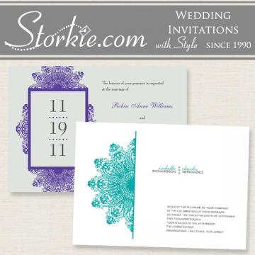 Invitations & Stationery in Fort Lauderdale, FL: Storkie Wedding Invitations