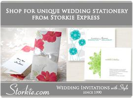Portfolio image for Storkie Wedding Invitations