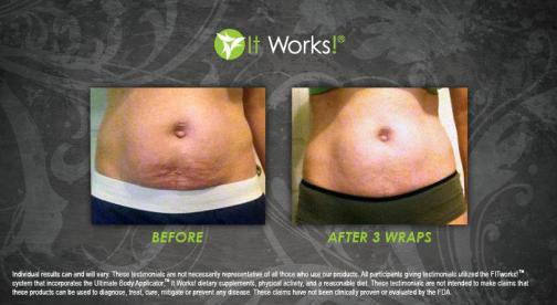 Portfolio image for Magic Shrink Wraps by It Works!