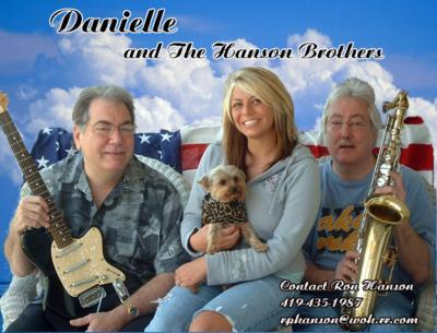 Portfolio image for Danielle and The Hanson Brothers