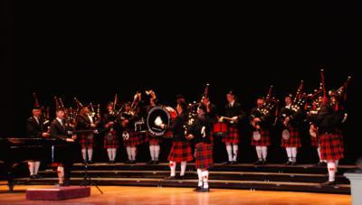 Portfolio image for Washington Memorial Pipe Band
