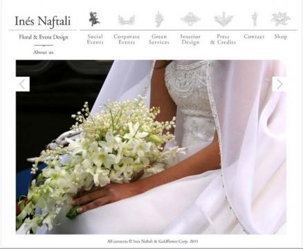 Portfolio image for Ines Naftali Floral & Event Design