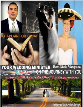 Officiants & Clergy in Bellaire, TX: Dallas, Houston, San Antonio Bilingual Wedding Minister Services
