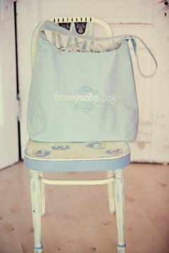 Portfolio image for honeymoon bag