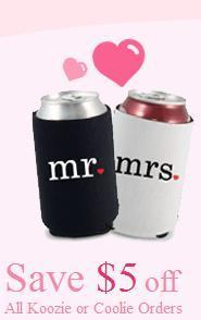 Portfolio image for Kooziesonline.com - one stop solution for all your koozies need