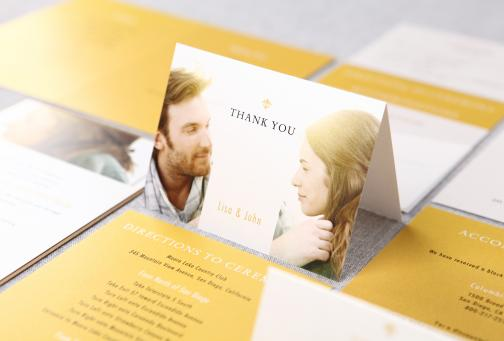 Invitations & Stationery in Los Angeles, CA: B Wedding Invitations