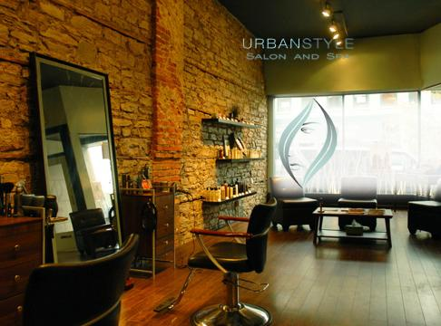 Portfolio image for Urban Style an Organic Salon & Spa