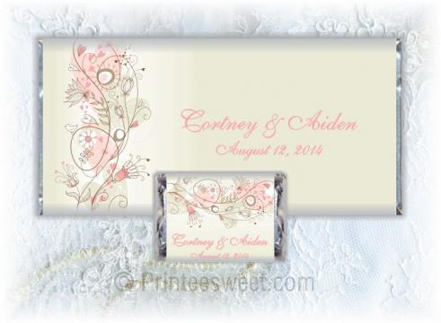 Favors & Gifts in Hopedale, OH: Printeesweet Wedding Candy Bars