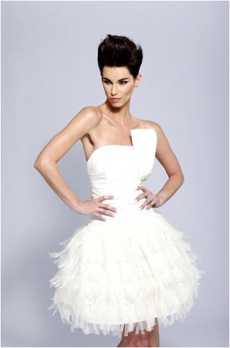 Designer Short Wedding Dresses