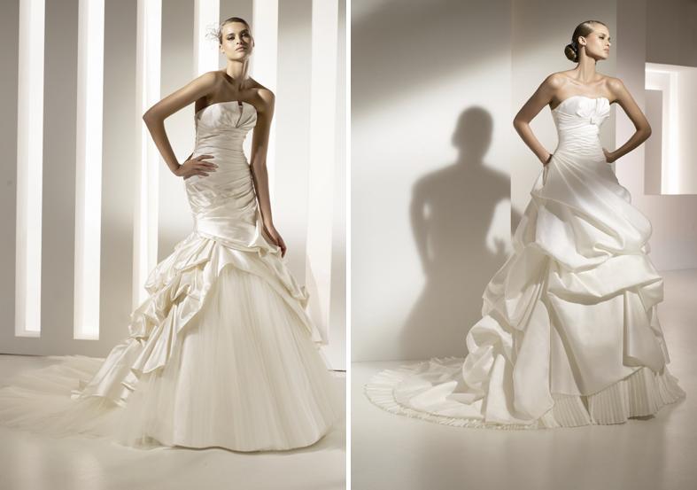 melania trump wedding dress images