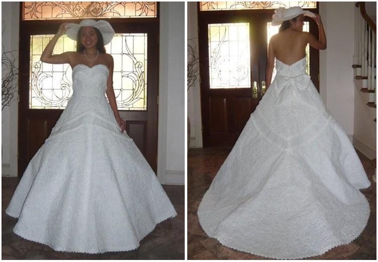 VESTITI DI CARTA Paper Dress - Giorno Dopo Giorno