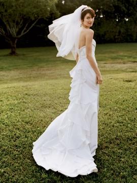 David's Bridal Collection Wedding Dress Style T9938