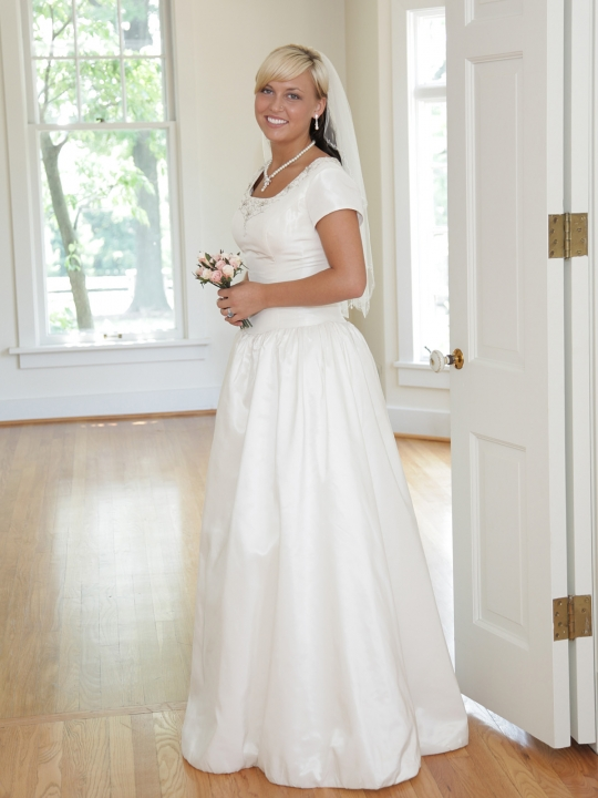 Photo Bridal Gowns For Older Brides Images