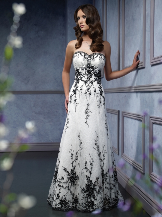 Simple cream colored wedding dresses