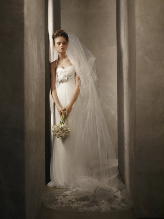White by Vera Wang: VW351002 wedding dress