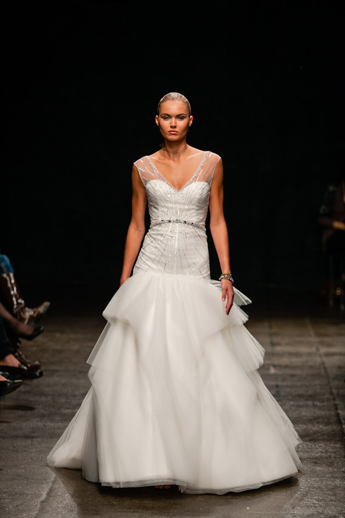 photo of Match the Wedding Dress with the Designer to WIN Your Signature Scent and a Year of Beauty