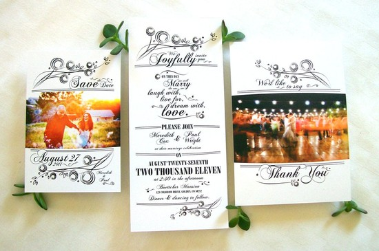 eco friendly wedding invitation suite handmade