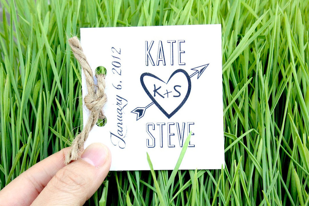 eco friendly wedding finds recycled on Etsy mini wedding programs
