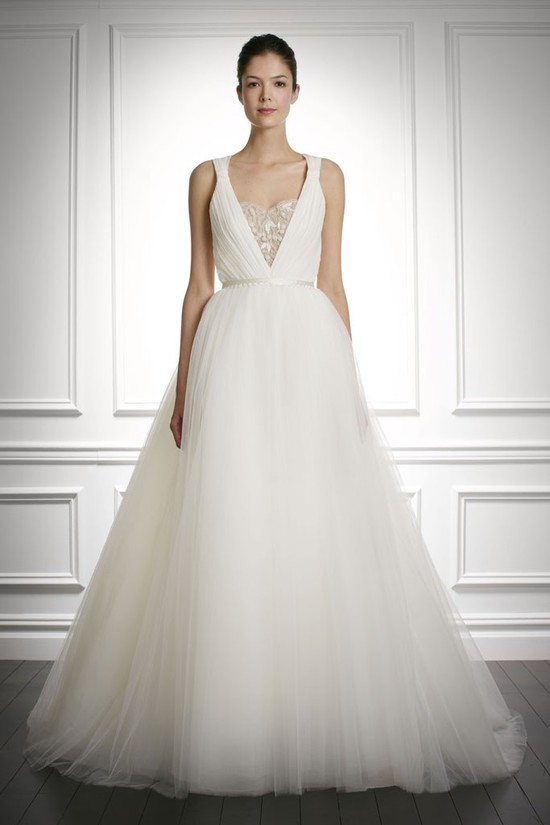 fall 2013 wedding dress Carolina Herrera bridal gowns 7