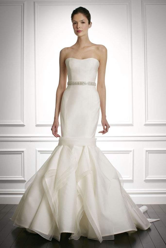 photo of Sweet Carolina Herrera... 9 Sophisticated New Wedding Dresses from Bridal Market