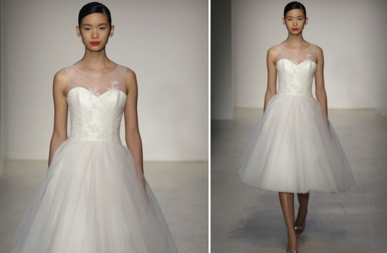 little white wedding dresses for 2013 Amsale 2