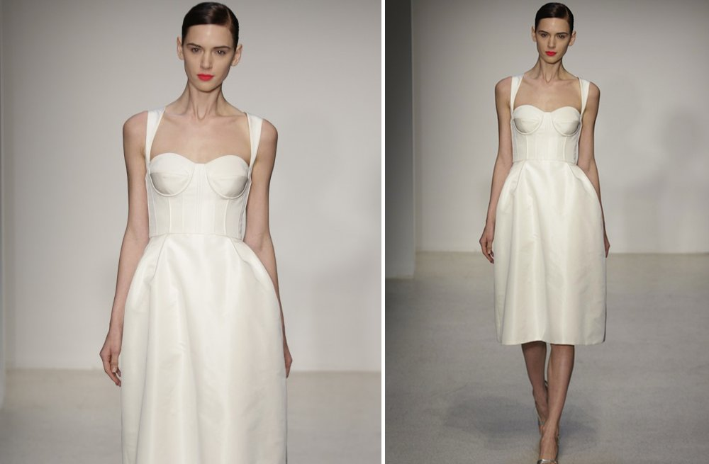 little white wedding dresses for 2013 amsale 1