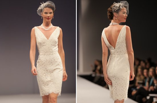 little white wedding dresses for 2013 Anne Barge 1