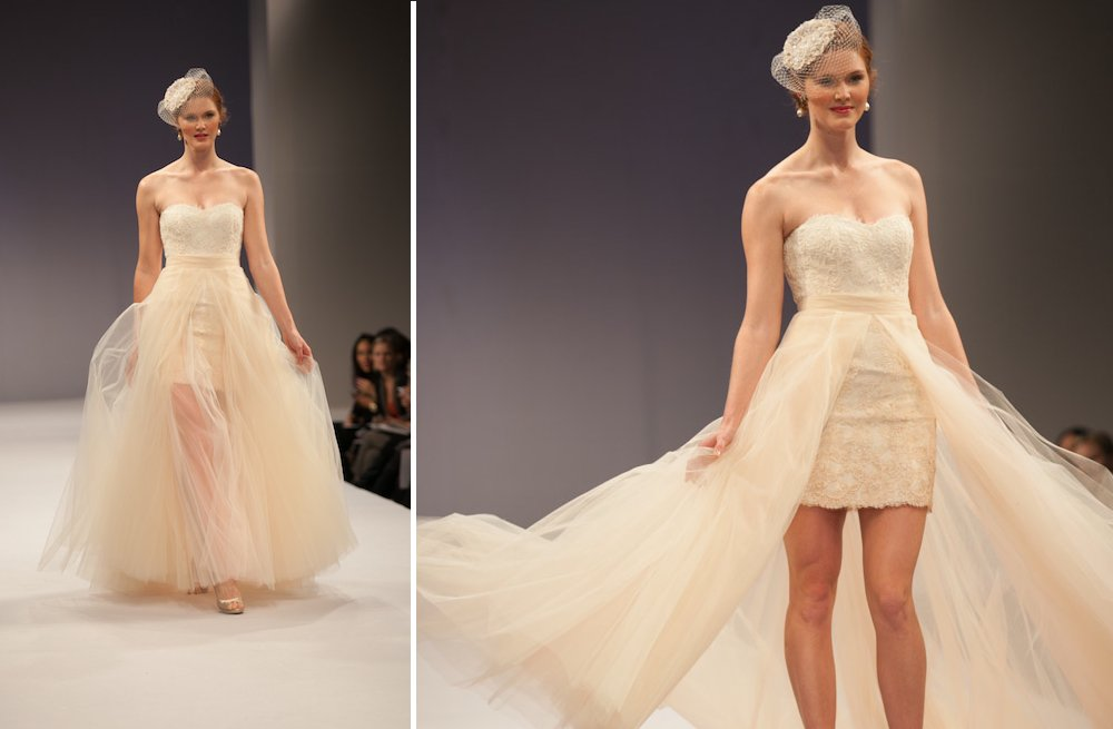 little white wedding dresses for 2013 Anne Barge 2