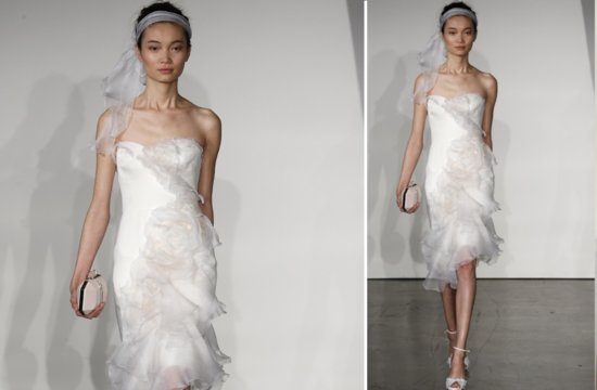 little white wedding dresses for 2013 Marchesa 1