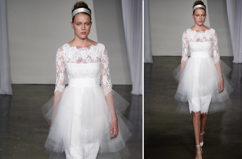 little white wedding dresses for 2013 Marchesa 2