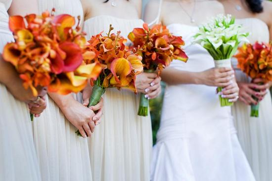 fall wedding flowers bouquets and centerpieces 1