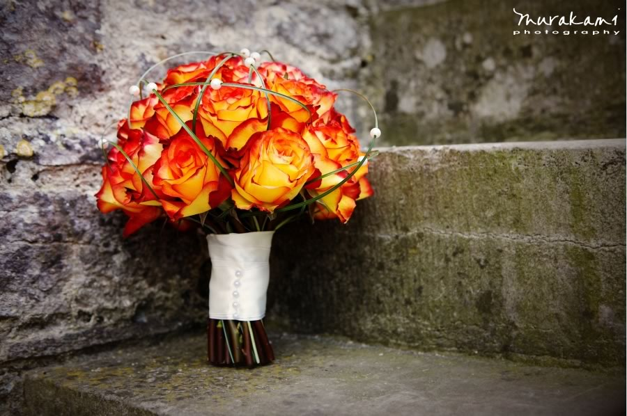 Fall Wedding Flowers Bouquets And Centerpieces Flame Roses OneWed