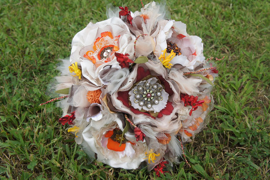 fall wedding flowers bouquets and centerpieces vintage eco friendly
