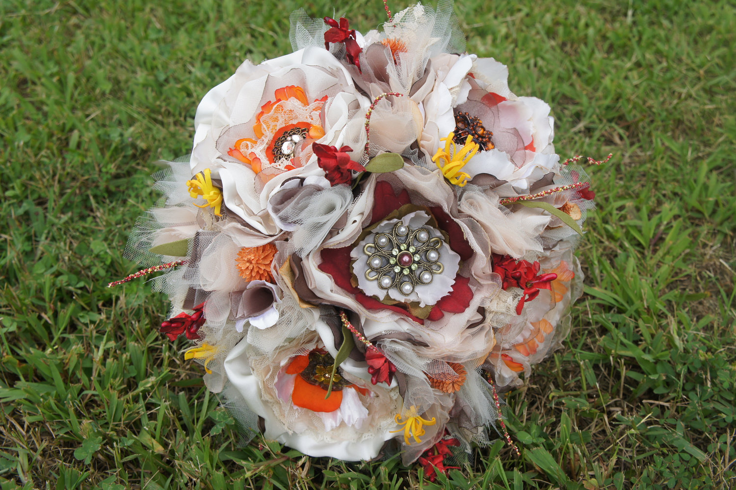 fall wedding flowers bouquets and centerpieces vintage eco