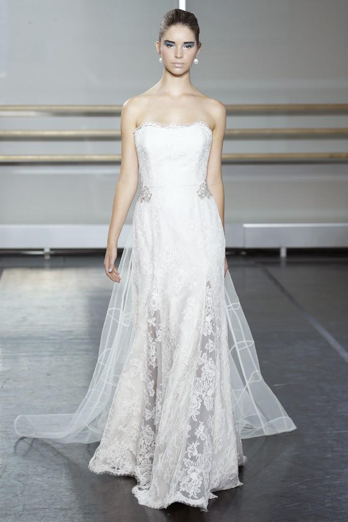 Fall 2013 Wedding Dress Trends Bridal Fashion Marchesa Rivini