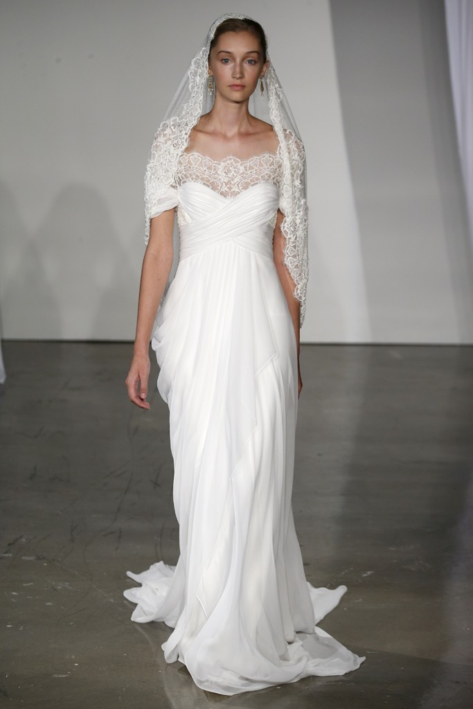 fall 2013 wedding dress trends bridal fashion Marchesa 3