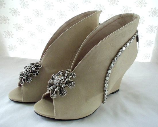 avant garde wedding shoes