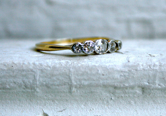 unexpectedly awesome wedding bands for brides and grooms Etsy handmade 10
