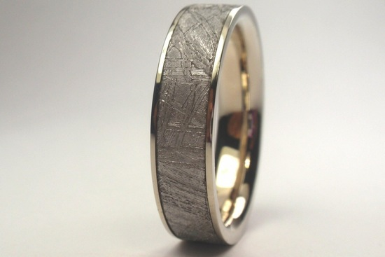 unexpectedly awesome wedding bands for brides and grooms Etsy handmade white gold