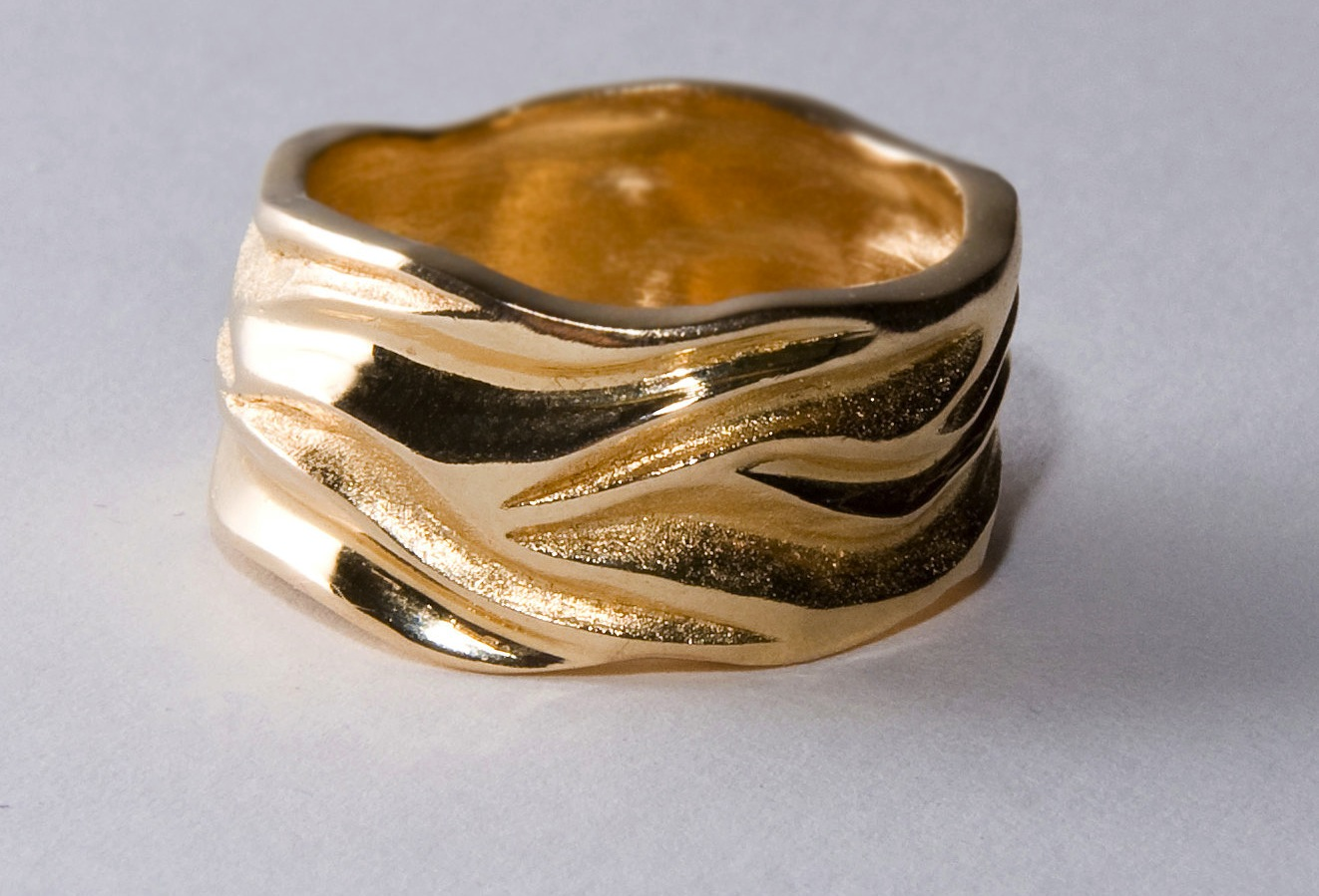 unexpectedly awesome wedding bands for brides and grooms