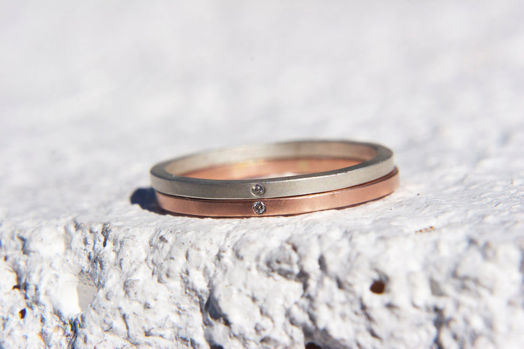 unique wedding bands on Etsy 2