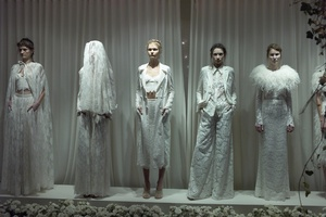 photo of Houghton Bridal wedding dresses and separates for edgy vintage brides 2